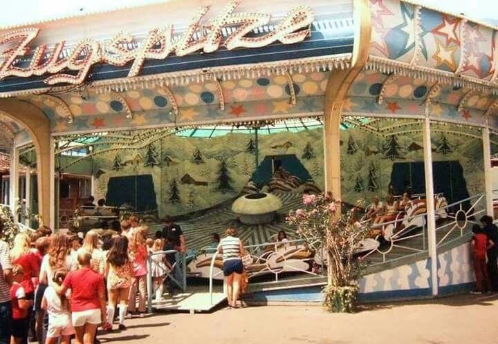 Elitch Gardens Zugspitz ride    b♡   The best of times