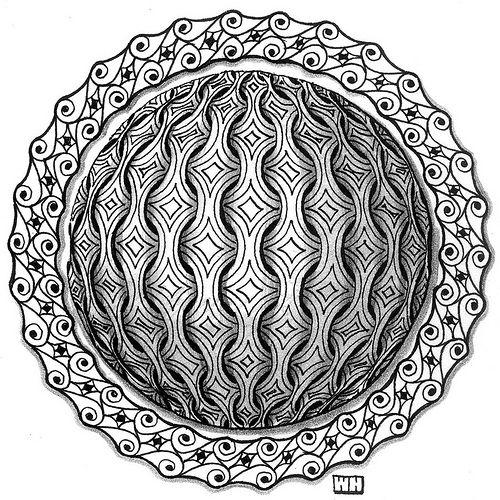 Zentangle by art4u2c