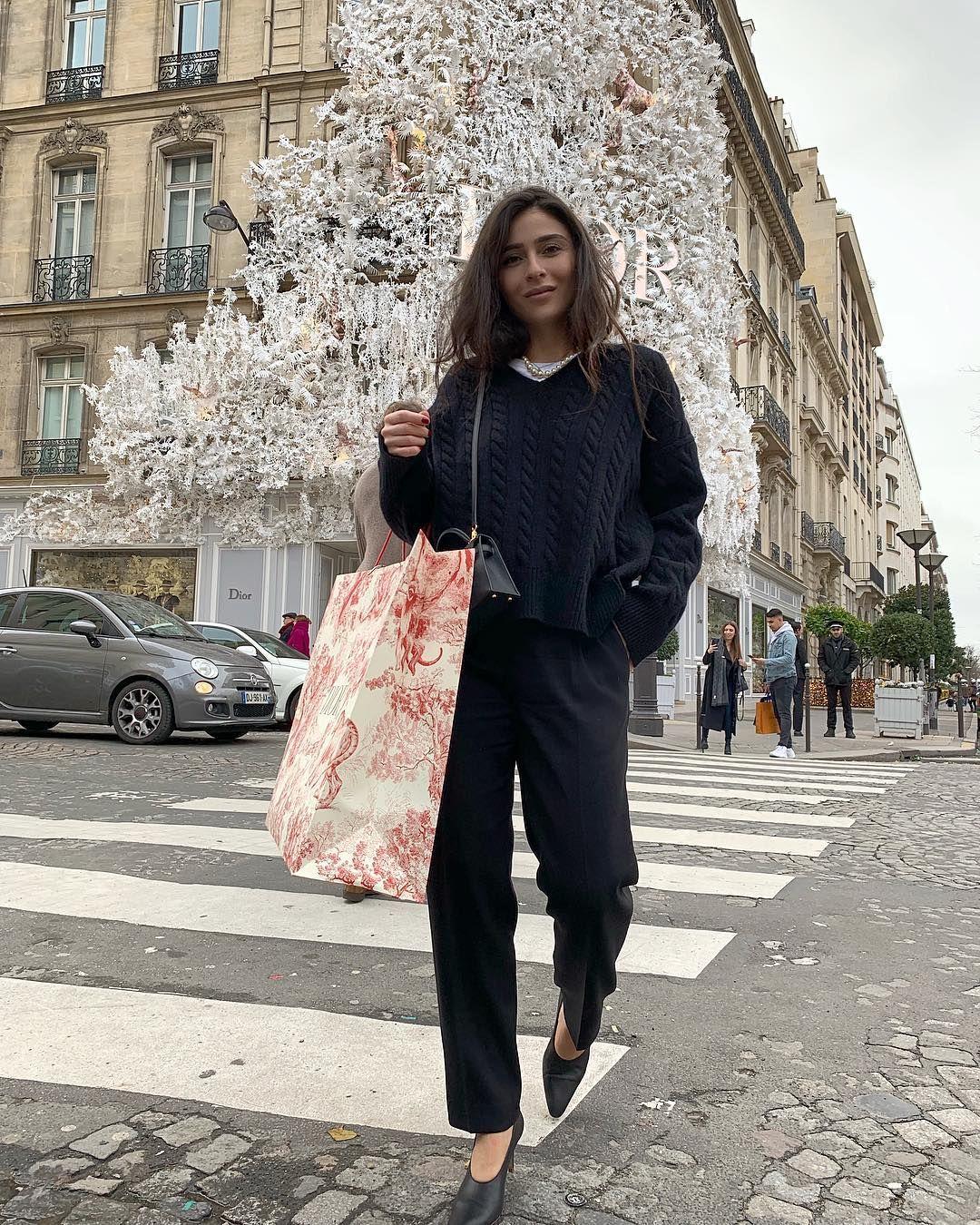 "Dior Christmas Tree In Paris 2020 Tamuna Tsiklauri on Instagram: ""The most beautiful Christmas Tree"