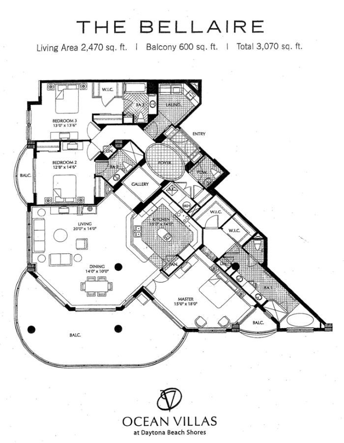 Fancy House Floor Plans