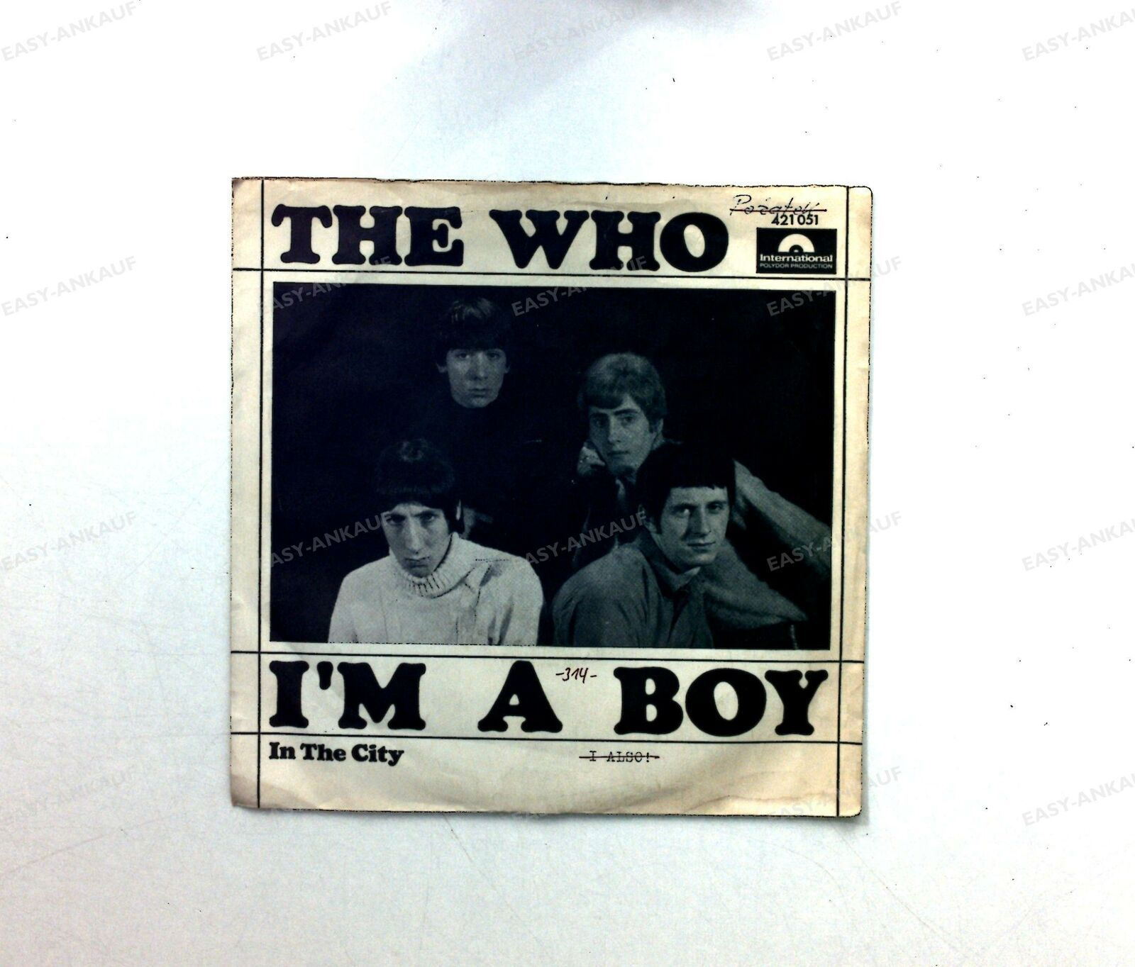 The Who -I'm A Boy GER 7in 1966 ´ | eBay
