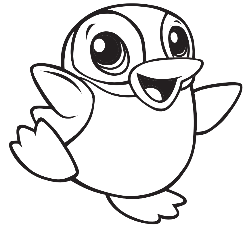 cute penguin coloring pages Google Search in 2020
