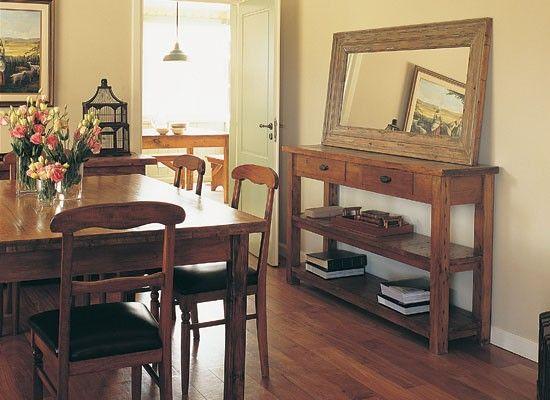 Comedores nobleza el piso y comedores for Decoraciones para comedores