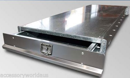 Under Tray Tool Box Trundle Drawer 1700mm Ute Roller