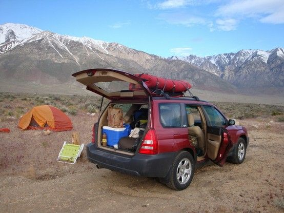 Car Camping Ideas