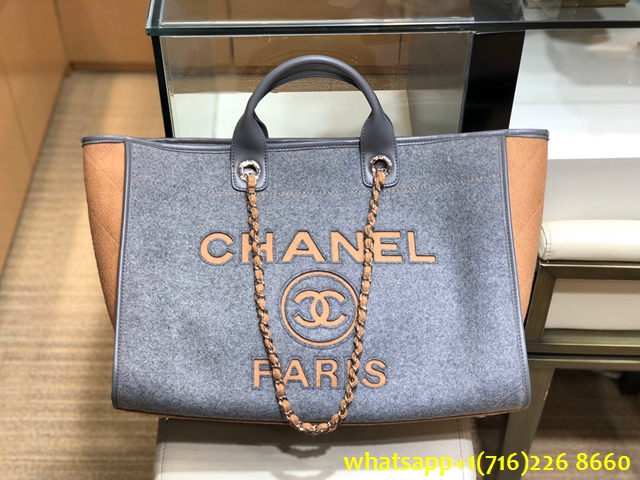 Product 1548 Chanel Large Shopping Wool Tote Bag 2020 New Wool Tote Bag Wool Tote Tote Bag