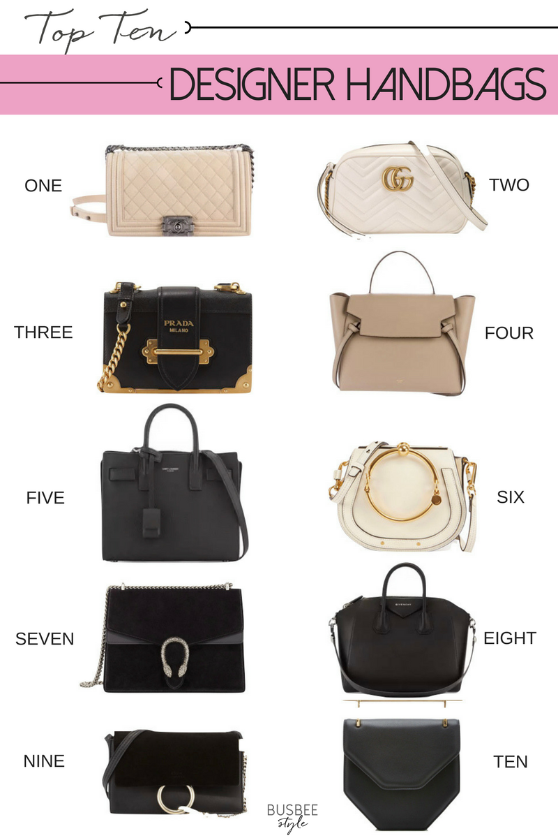 Top Ten Designer Handbags | Art | Top designer handbags ...