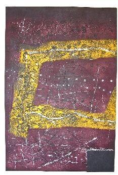 "Ancient Record No. 3., Hideo Hagiwara, ed. of 30, 27 1/4"" x 39 1/2"""