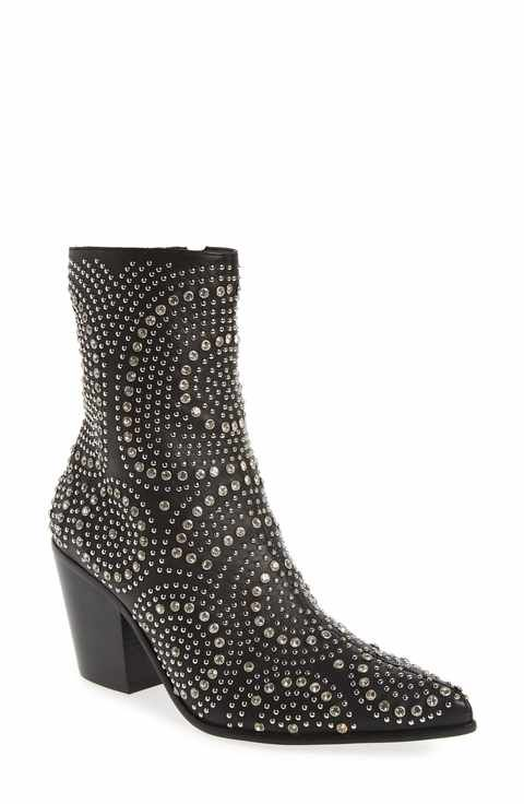 Jeffrey Campbell Women's Ace-Sj Embellished Bootie TVD2ge