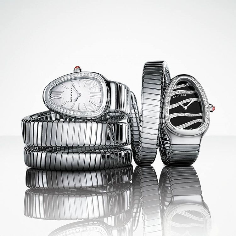 merging two of the most iconic symbols of bulgari design serpenti tubogas coils the
