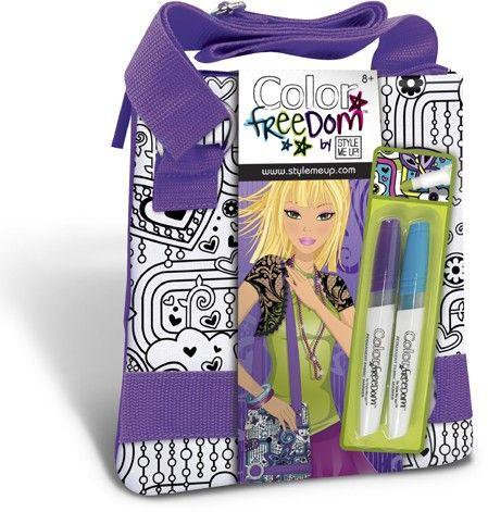 Color Freedom Purple Handbag