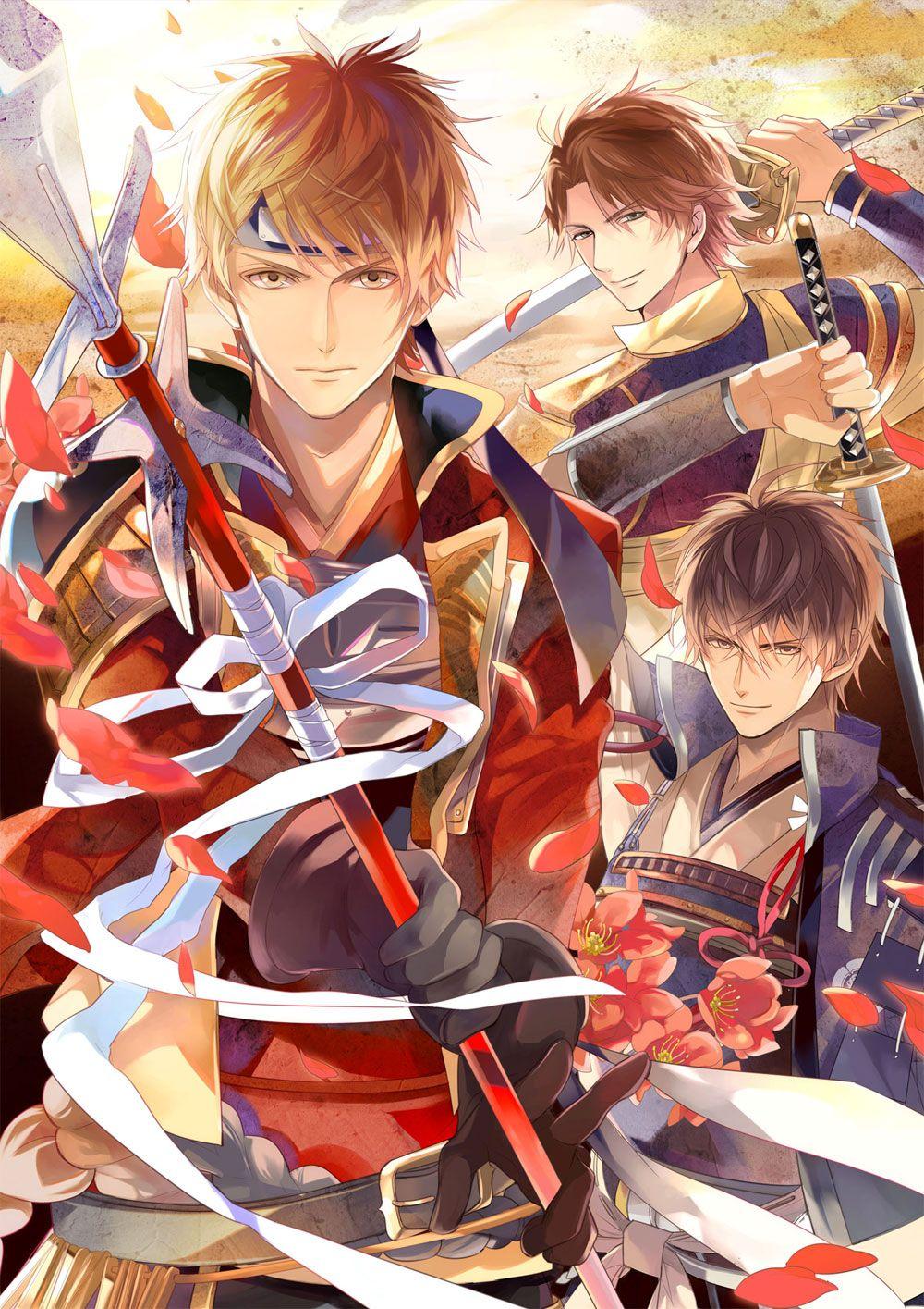 El juego de Ikemen Sengoku tendrá adaptación a obra de teatro en abril.