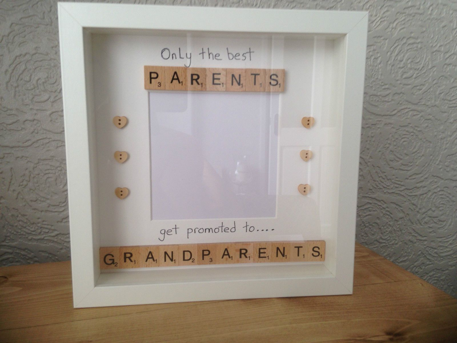 Only the best Parents get Promoted to Grandparents frame. Due to its ...