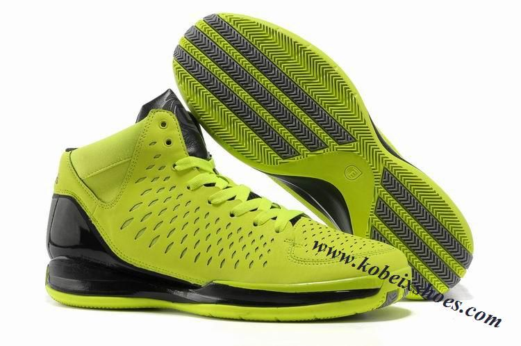 size 40 0b945 99309 Adidas Adizero Rose 3.0 Derrick Rose Shoes Green Black