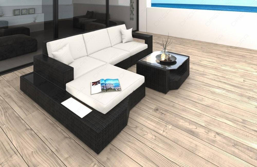 Los Angeles Lounge Wicker Sofa Sofadreams In 2020 Rattan