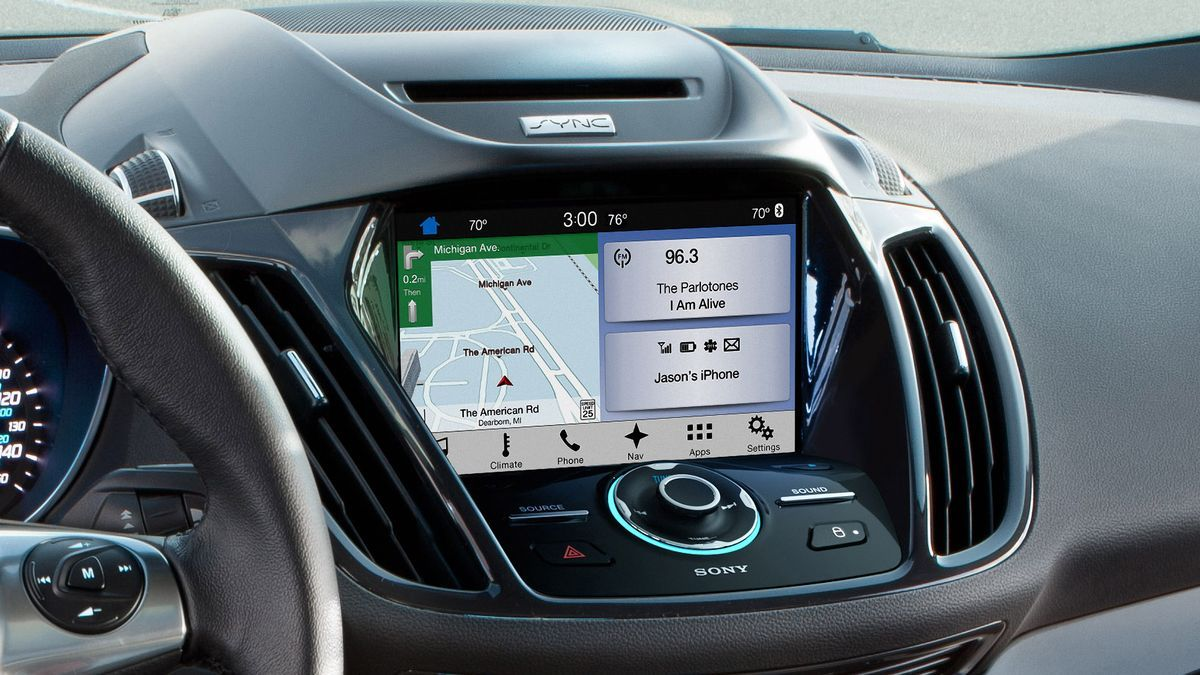 Ford s sync 3 connected car platform debuts this summer with the escape and fiesta