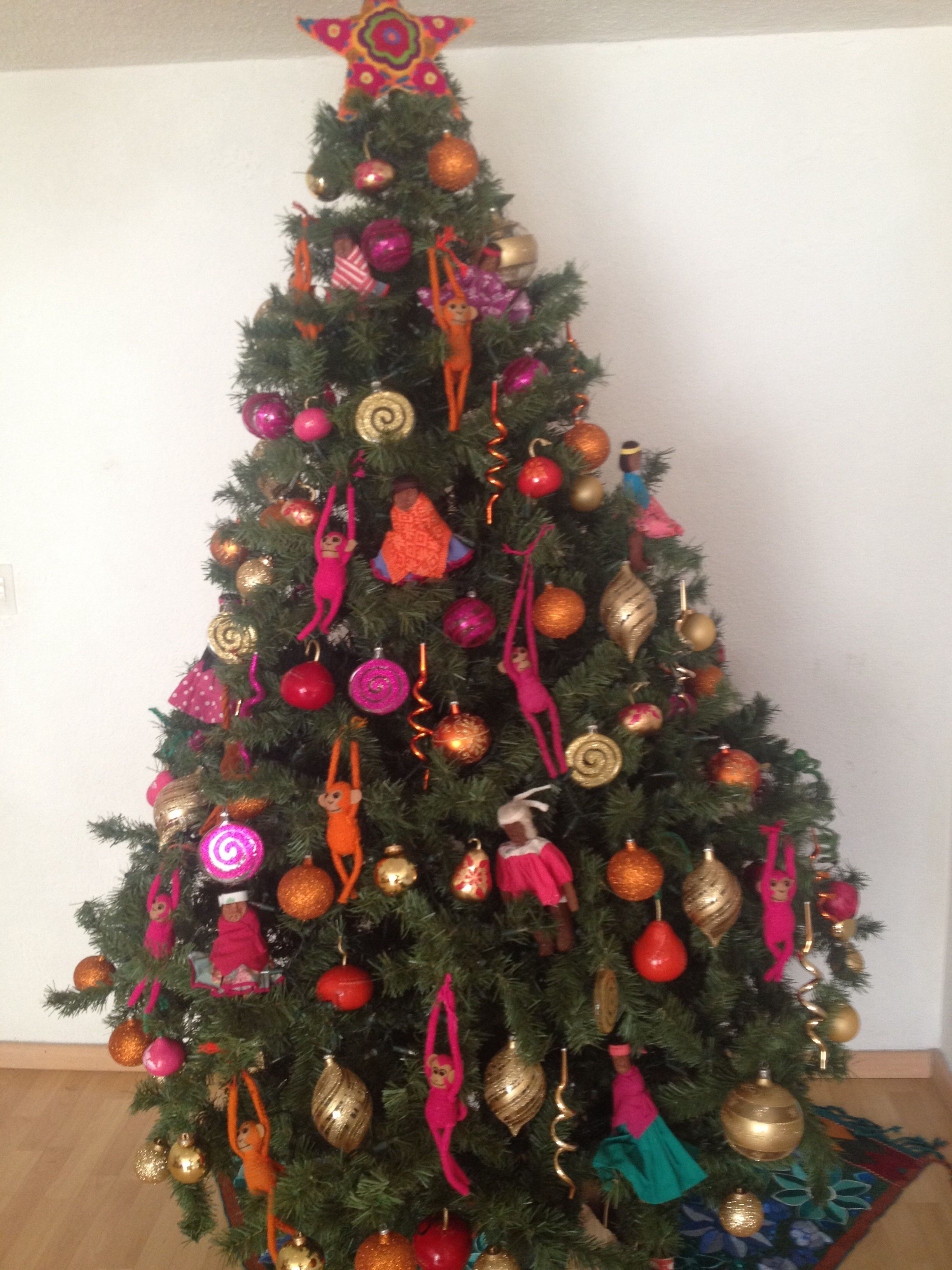Mexican christmas tree with real mexican ornaments!!! Everything was ...