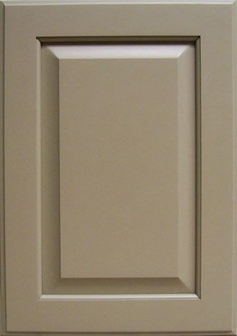 ©Haas Cabinet Co COLOR Choice ™ paint: Tailored Linen on Maple with Federal door style
