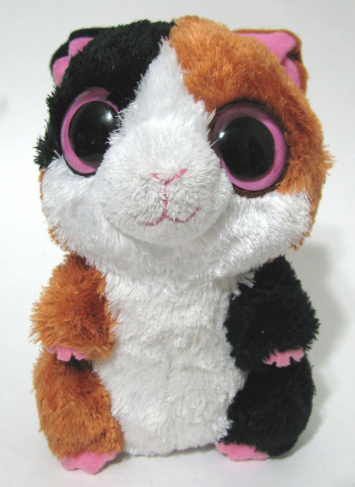 6a1f9c5f359 RARE TY Plush NIBBLES Beanie Boos Guinea Pig Hamster Plush Retired HTF Pink  Eyes  Ty  Plush  Beanie  boos  Hamster  pink  Retired  2011  Nibbles