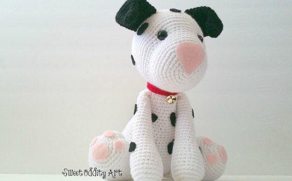 puppy crochet pattern dalmatian crochet pattern crochet