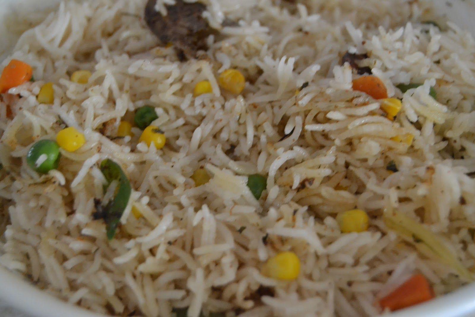 Riso Pilaf con verdure al microonde Riso pilaf