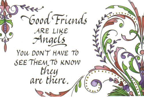 angel saying images quotes 331 good friends are angels good friends are like angels