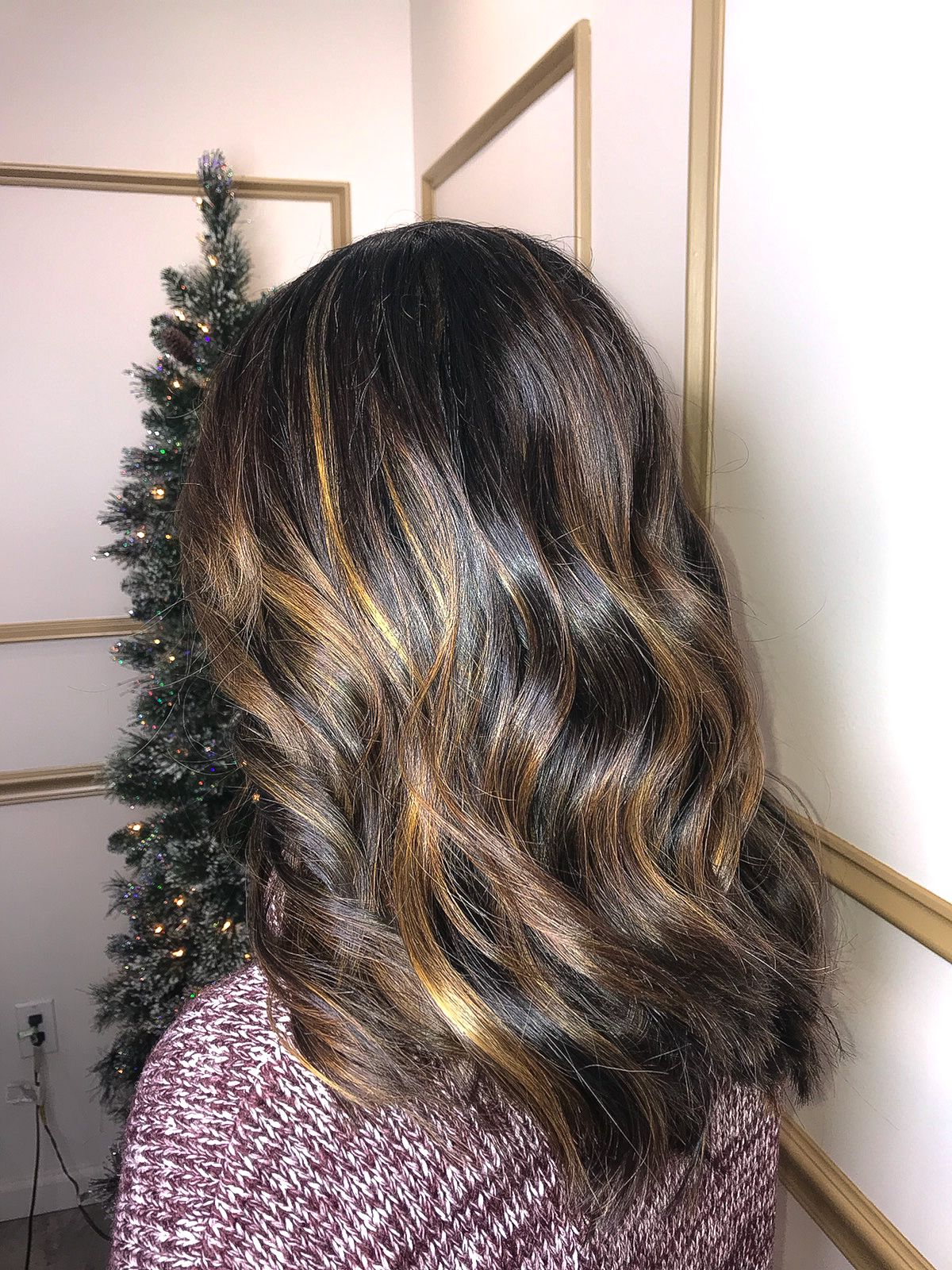 Brunette Balaya Haircolor Brunette Balayage Olaplex