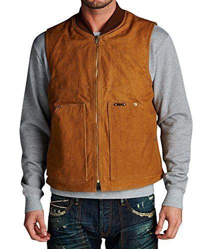 Cool Denim Vest I Love Big Trucks Mens Sleeveless Biker Wear M5XL Tan XL >>> Check out this great product.