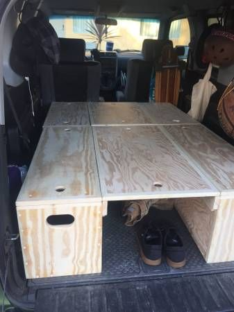 Honda Element Wooden Storage Boxes & Camping Recipes Apple | Camping Hammock Winter | Pinterest | Honda ...