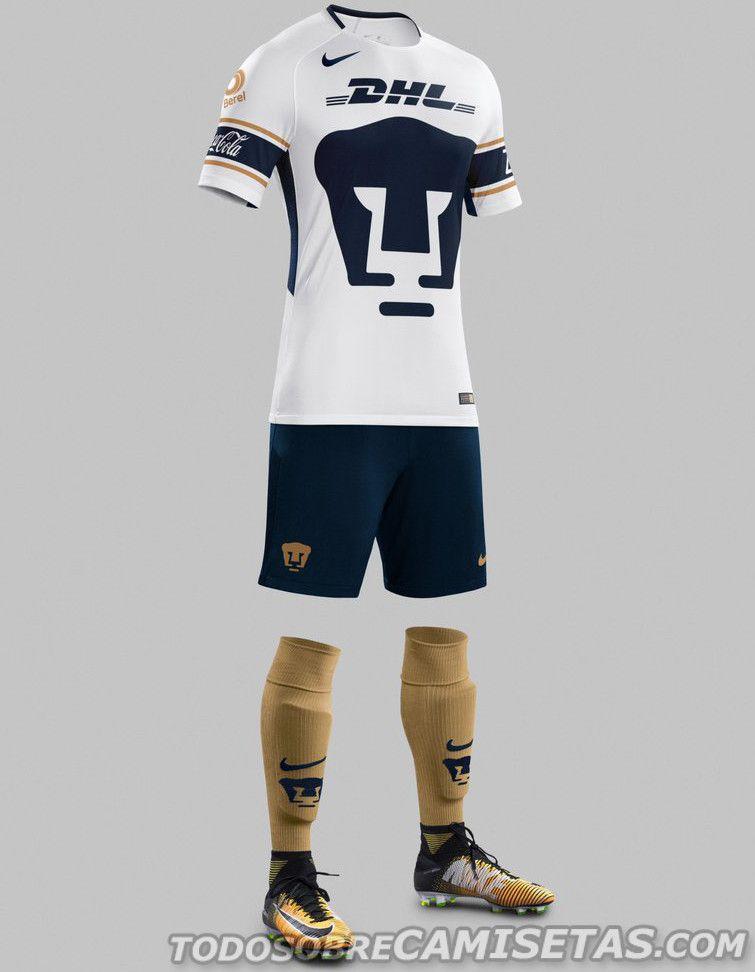 Camisetas Nike de Pumas 2017-18  70df3d08f2cad