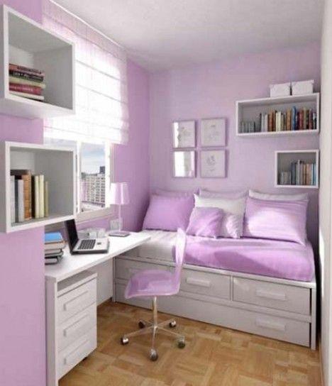 I colori adatti per le pareti di casa - Cameretta lilla | Colori ...