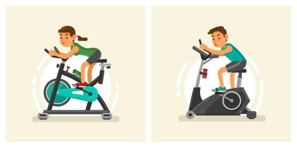 Stationary Bike Vs Spin Bike How Do They Differ Exercisebike
