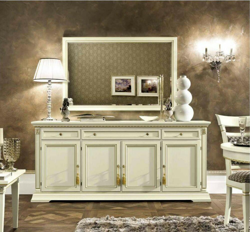Wohnzimmermöbel Treviso aus Echtholz und furniert. Kein