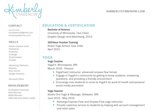 Unforgettable Yoga Instructor Resume Examples To Stand Out How Find A Teaching Job Abroad