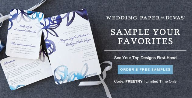 FREE 8 Stationery Samples Wedding Website From Paper Divas