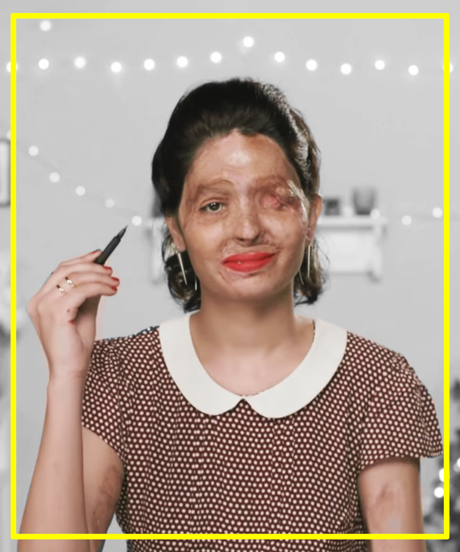 Reshma Acid Attack Survivor Makeup Tutorial | Reshma's makeup tutorial has an extremely powerful message about acid attacks in India. #refinery29 http://www.refinery29.com/2015/09/93502/reshma-acid-survivor-makeup-tutorial