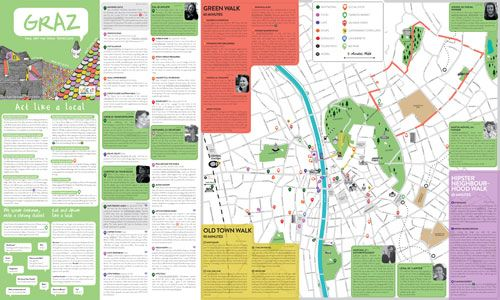 Travel Guide Graz tourist info city map City Maps USE IT