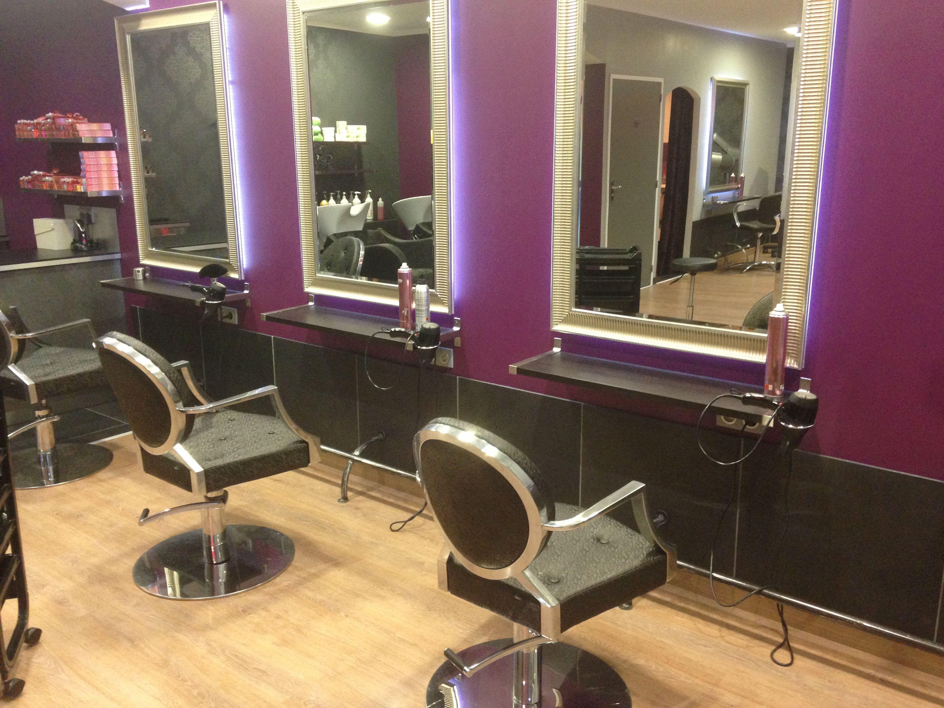 Elegant Mobilier Salon De Coiffure Professionnel