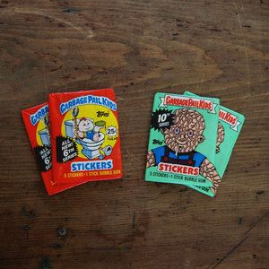 Garbage Pail Kids 4pk II now featured on Fab.