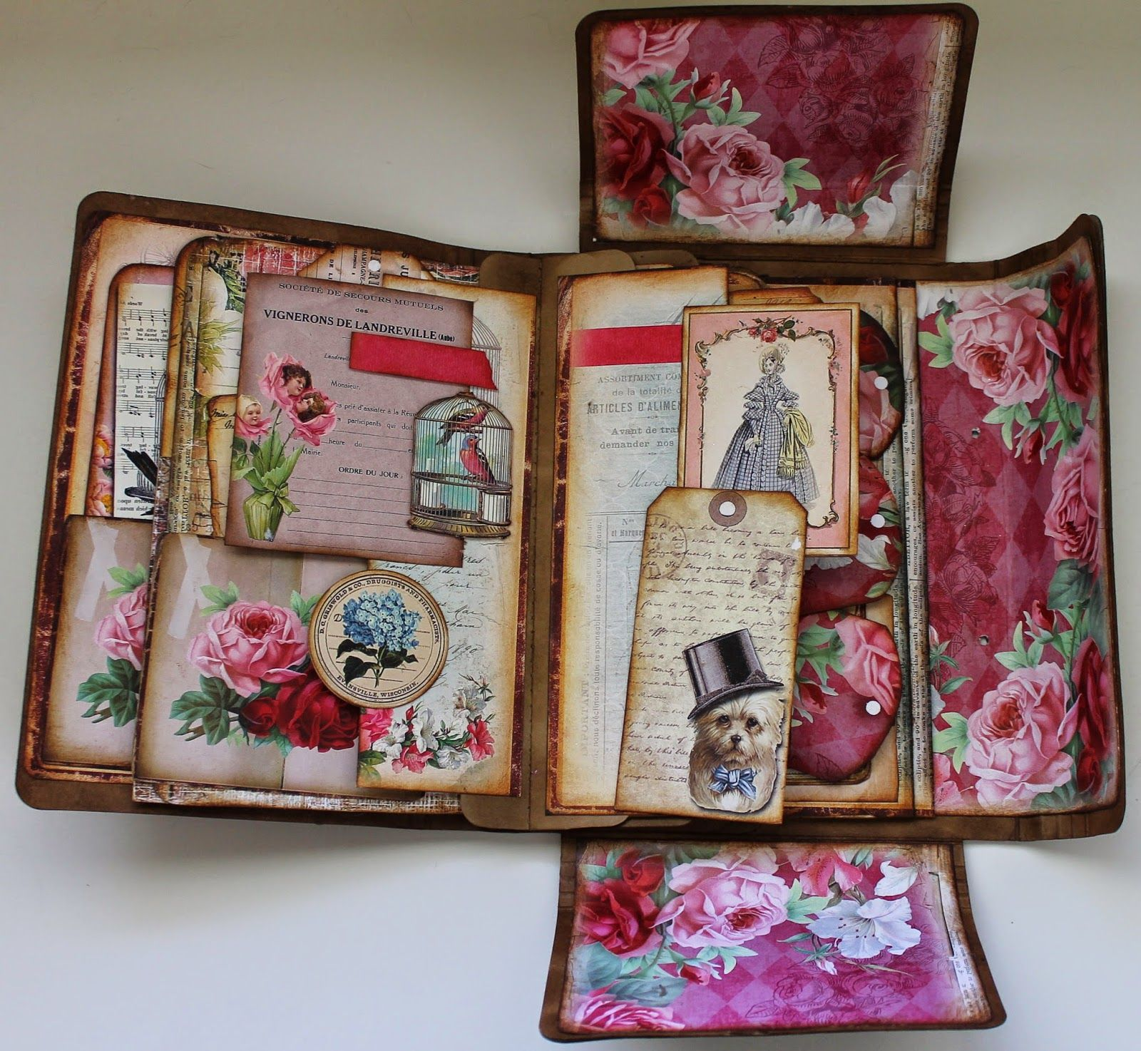 ShelbyDoodle Designs: Creative Team Project for Ephemera's Vintage Garden and…