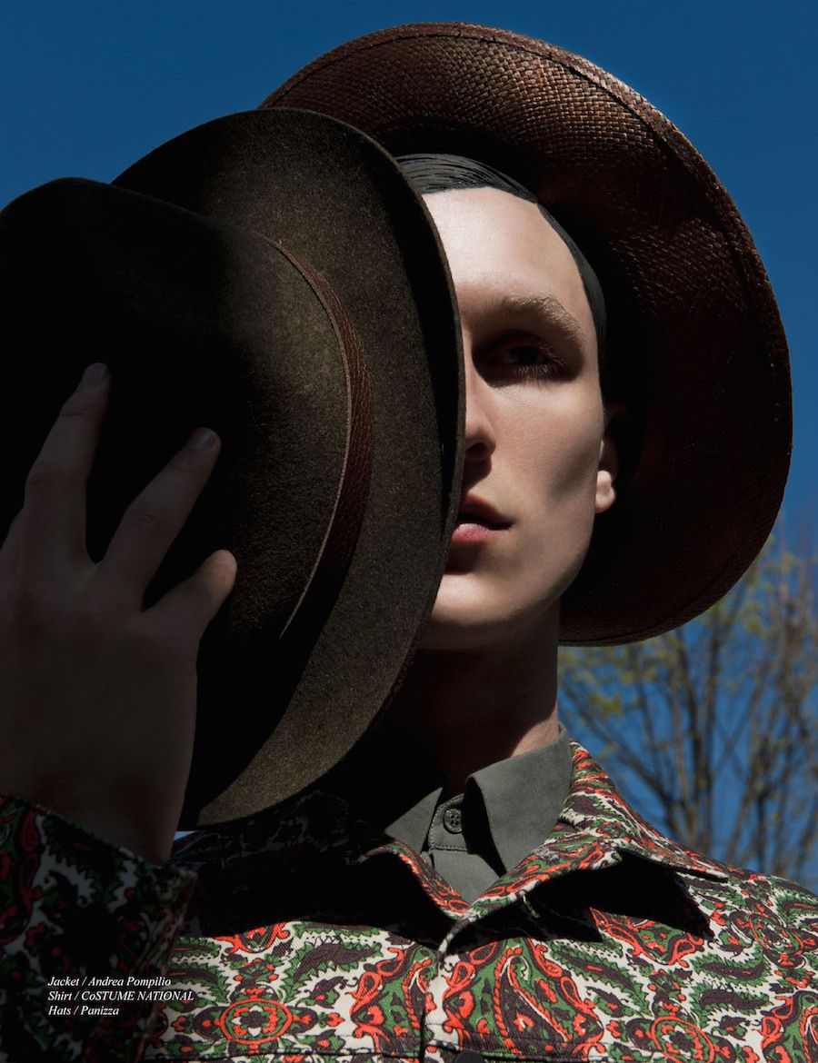 Andreas Brunnhage Is A Modern Cowboy For Schon Image Fashion