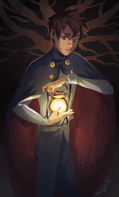 Becoming the Lantern | via Tumblr cartoons -  wirt,  over the garden wall ~ *DIES cus it was awesomely done and he looks dead gorgeous *