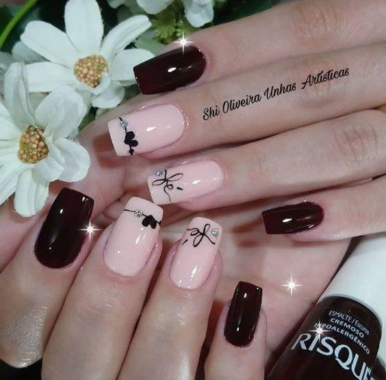 ✔️Маникюр на день влюбленных: фото ногтей, дизайн