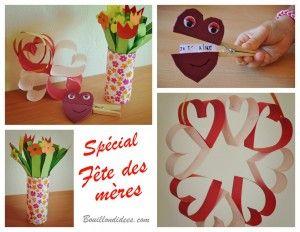 diy f te des m res mamies st valentin bouquet de fleurs en papier pince linge coeur. Black Bedroom Furniture Sets. Home Design Ideas