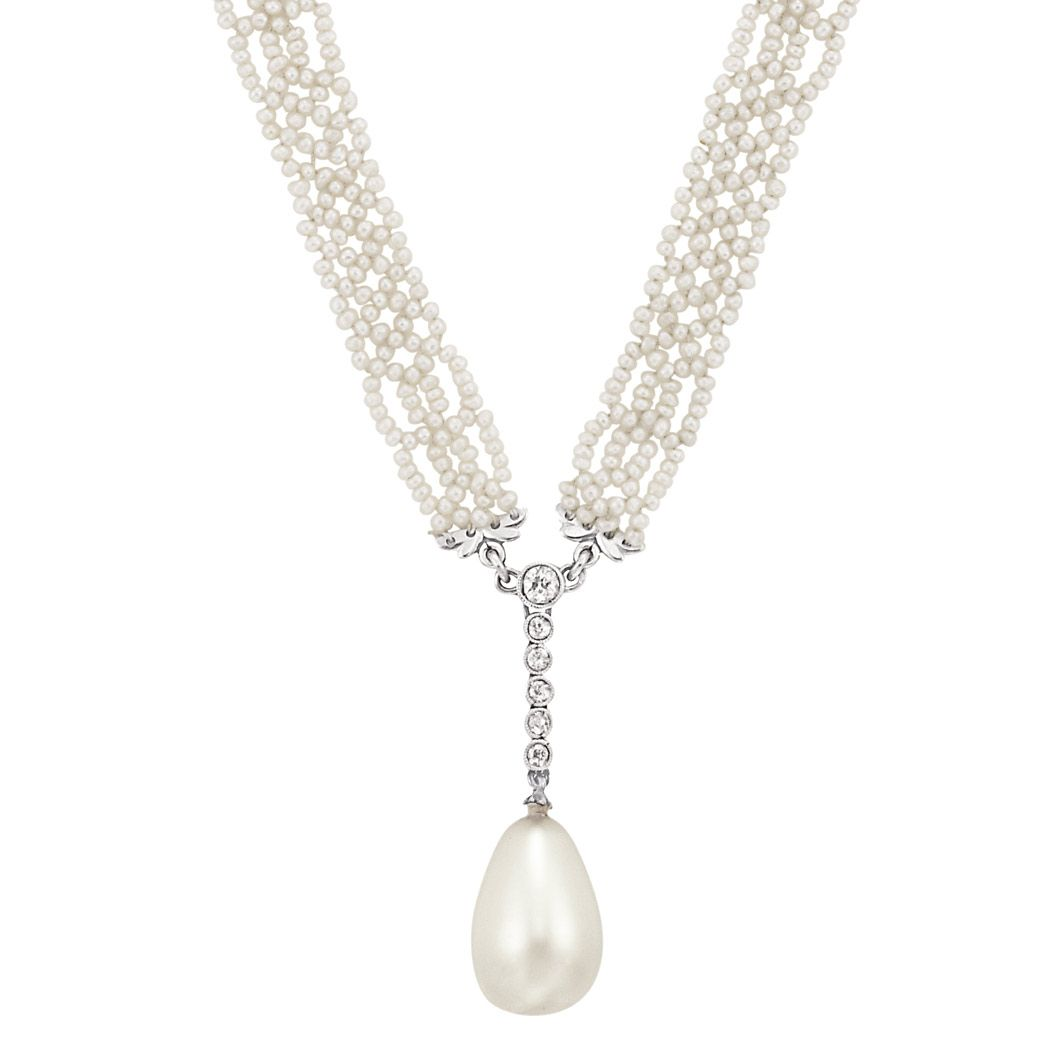 online necklace order on item livemaster pearl olga shop by pendant natural jewelry orlova with pearls