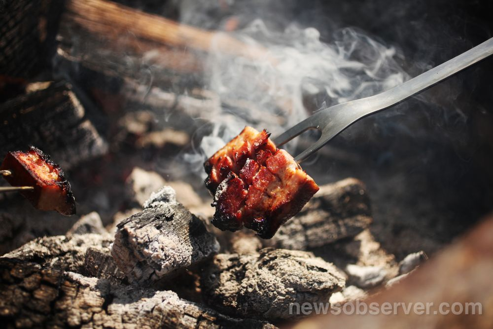 Have you ever cooked over an open fire...and we're not