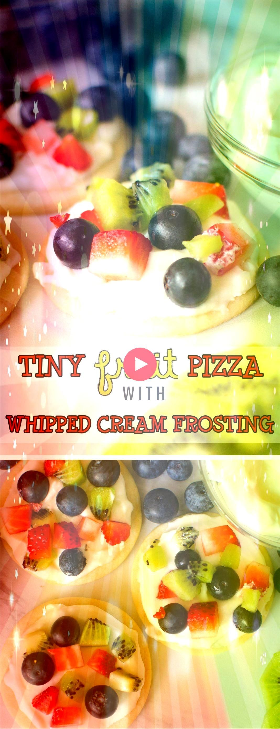 Pizza Cookies are all the goodness you get in a fruit pizza in mini form These smaller individual Sugar Cookie Fruit Pizzas are the perfect dessert Soft sugar cookie doug...