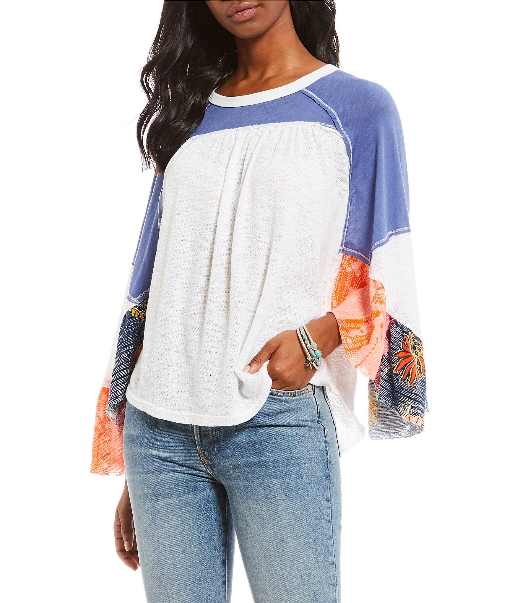 9d170255d5e Shop for Free People Friday Fever Flutter Sleeve Top at Dillards.com. Visit  Dillards.com to find clothing