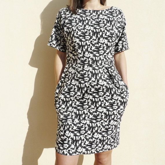 Basel Dress PDF Sewing Pattern von honigdesign auf Etsy | Crochet ...