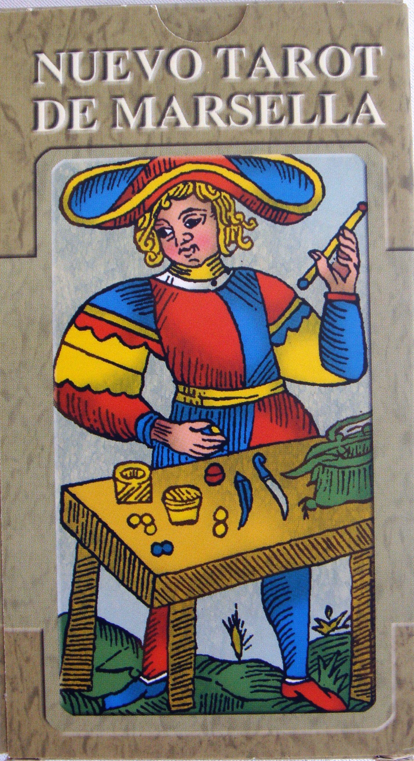 New tarot of marseille spanish edition tarot tarot de
